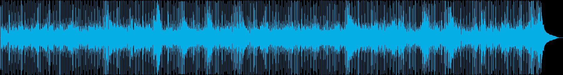 【ベースとドラムだけ】疾走感ポップロックの再生済みの波形