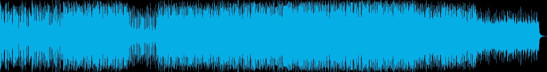 疾走感のある未来的な、宇宙的な曲ですの再生済みの波形