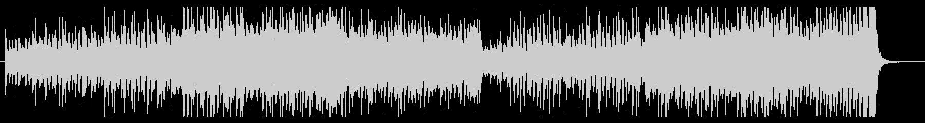 サスペンス追跡シーンの緊迫壮大BGMの未再生の波形