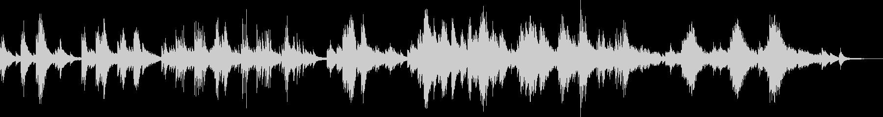 悲しいピアノBGM(生演奏・バラード)の未再生の波形