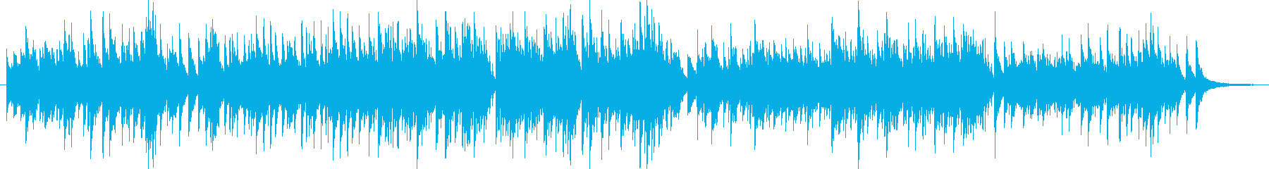 朝をイメージした明るいピアノ曲の再生済みの波形