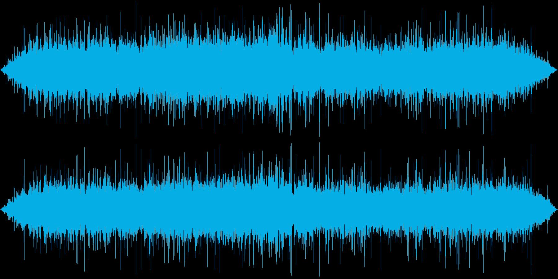 ジュゥゥゥ…+パチパチ… (長め、焼く)の再生済みの波形