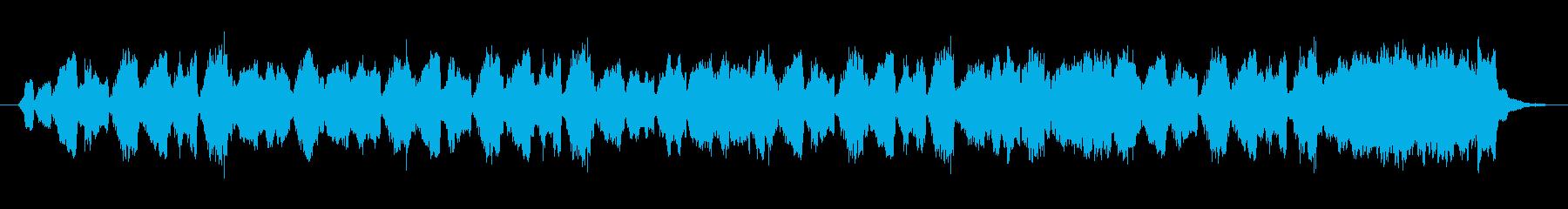 レトロな雰囲気の約20秒ジングルの再生済みの波形