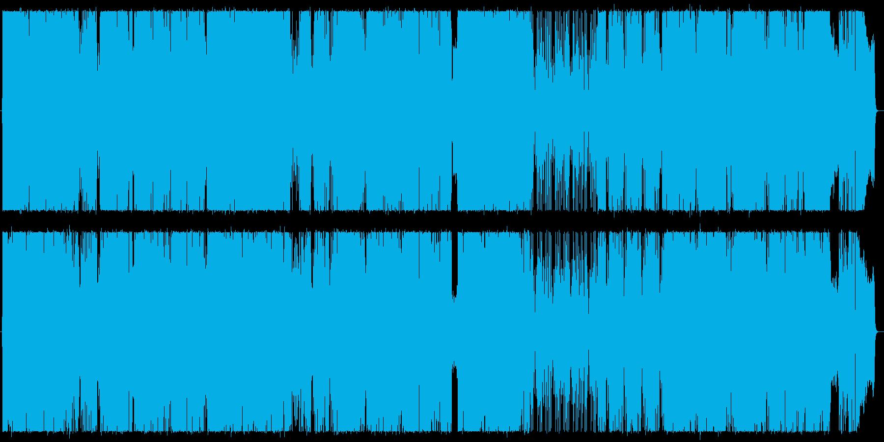 ツインドラムスで16ビートの疾走感を!の再生済みの波形