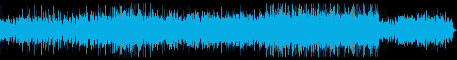 EXILE風ヒットチャートポップスの再生済みの波形