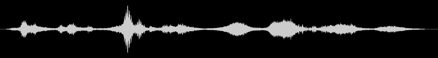 メタリックフィードバックスペースド...の未再生の波形