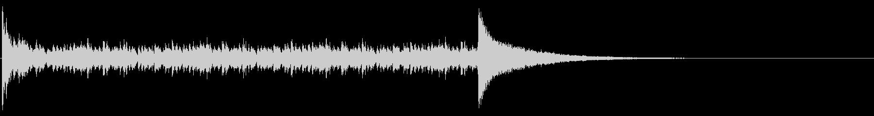 ドラムロール_7秒の未再生の波形