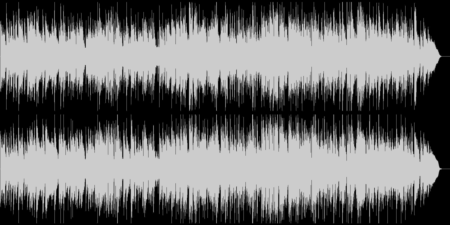 メロディアスな素敵サックスのジャズワルツの未再生の波形