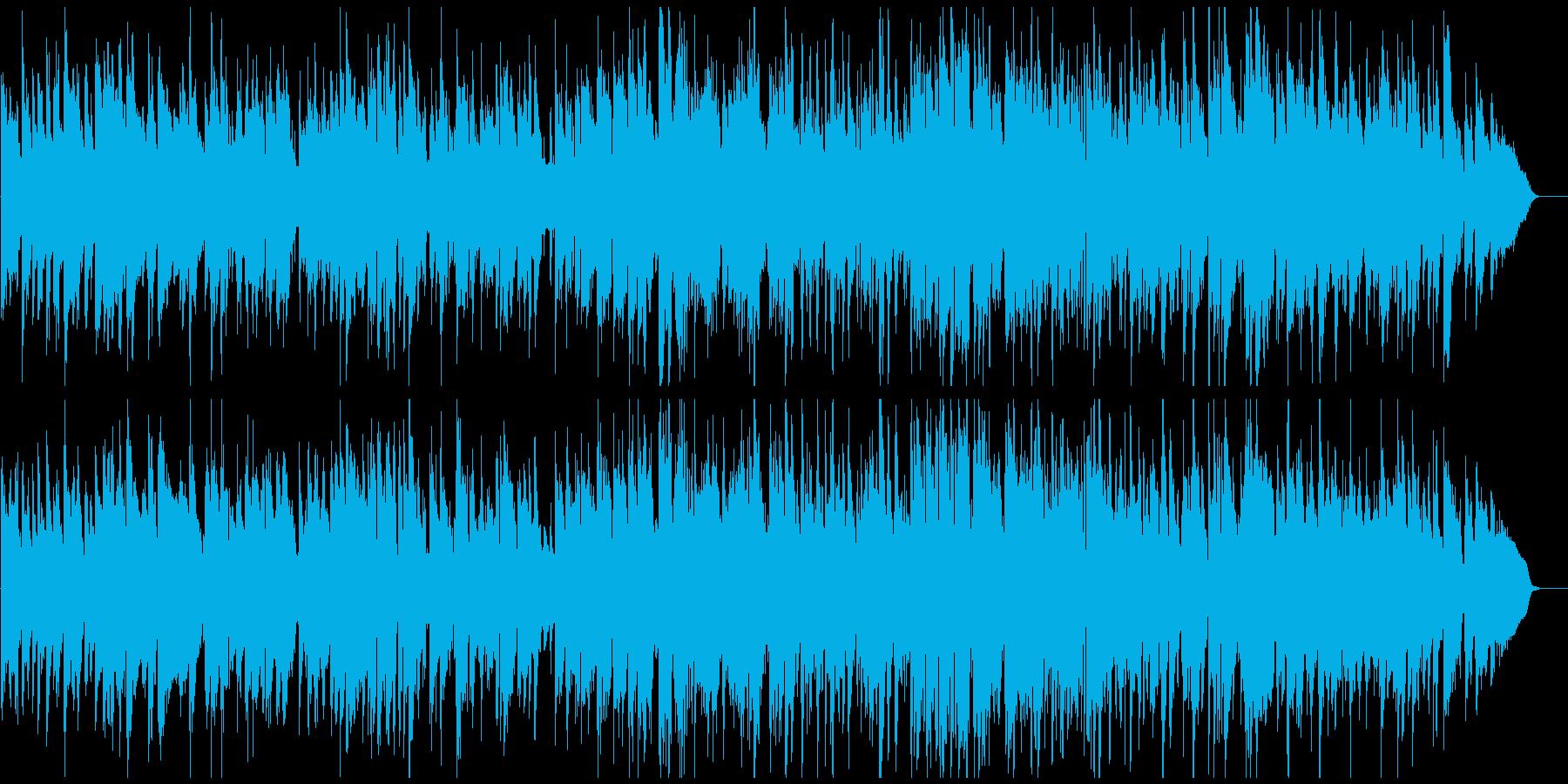 メロディアスな素敵サックスのジャズワルツの再生済みの波形