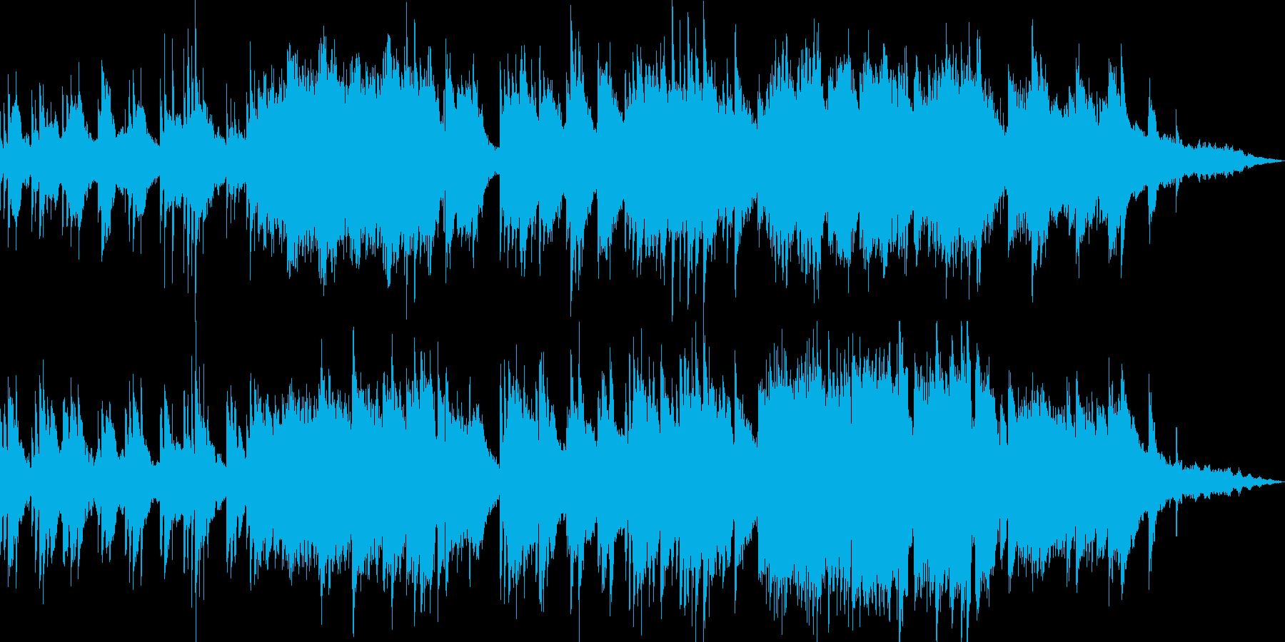 【ピアノソロ】バラード・ピアノ・透明感の再生済みの波形