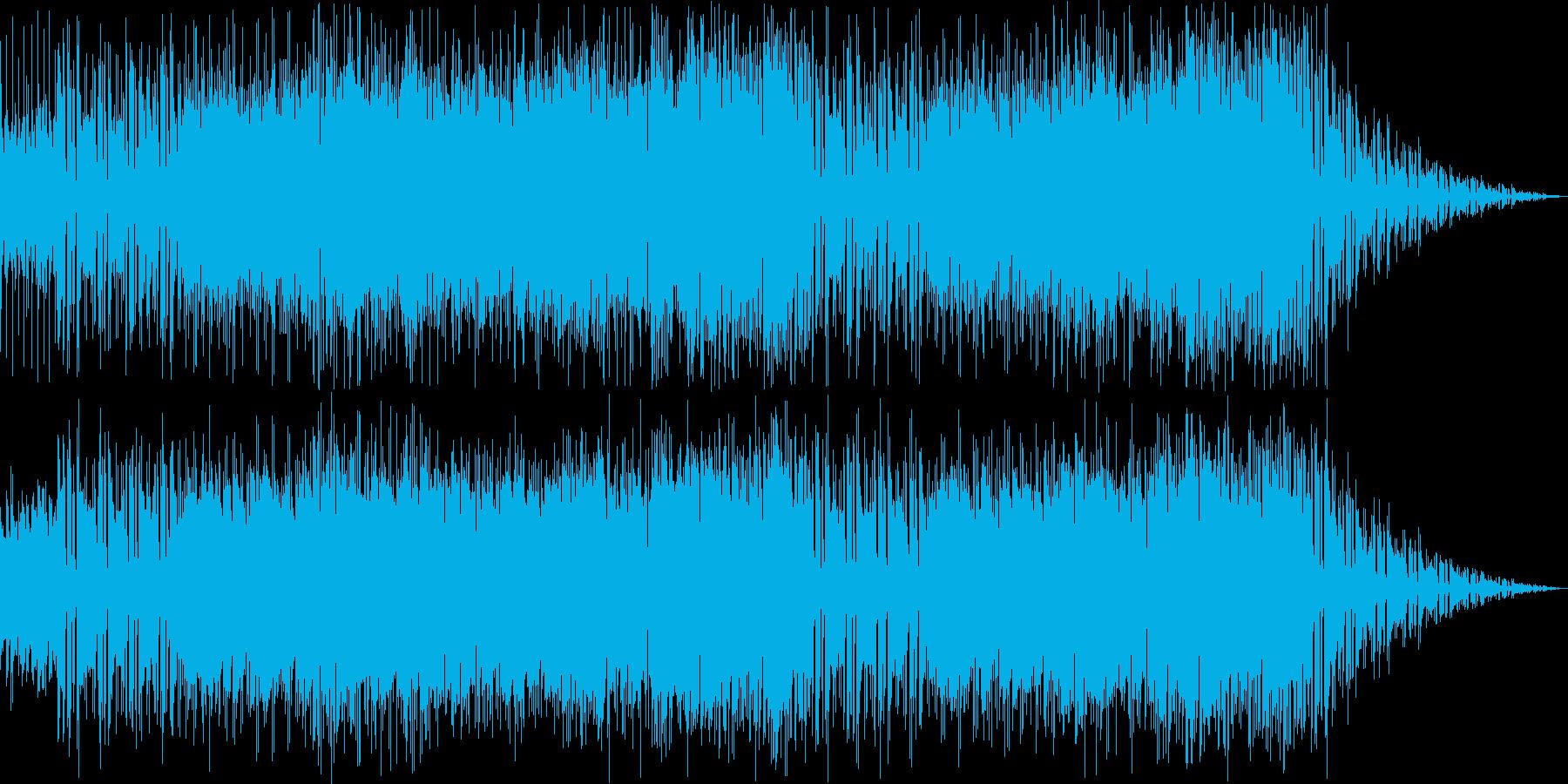 ポップで優しいインフォメーション曲の再生済みの波形