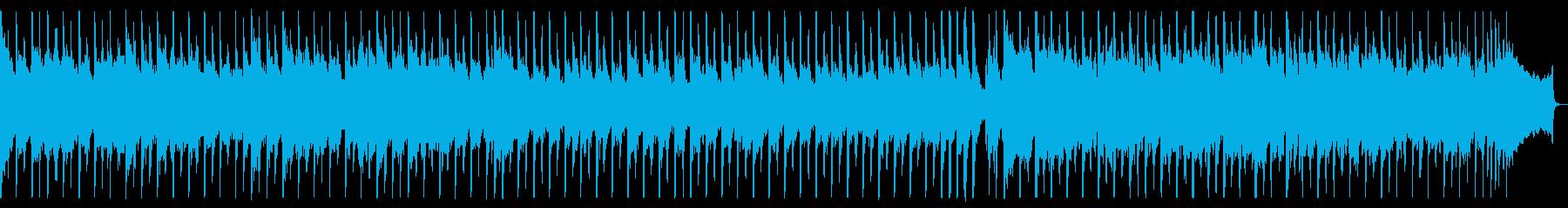 生アコギがメインのカントリーPOP60秒の再生済みの波形