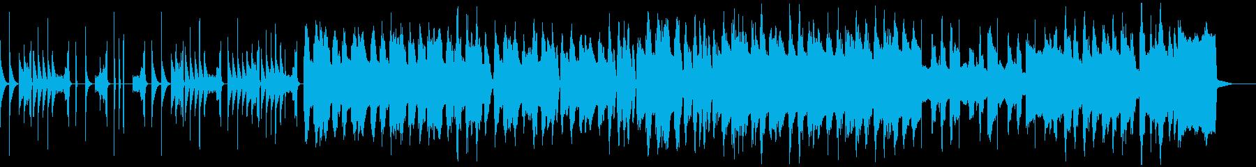 たのしげ あたりさわりのない元気なBGMの再生済みの波形