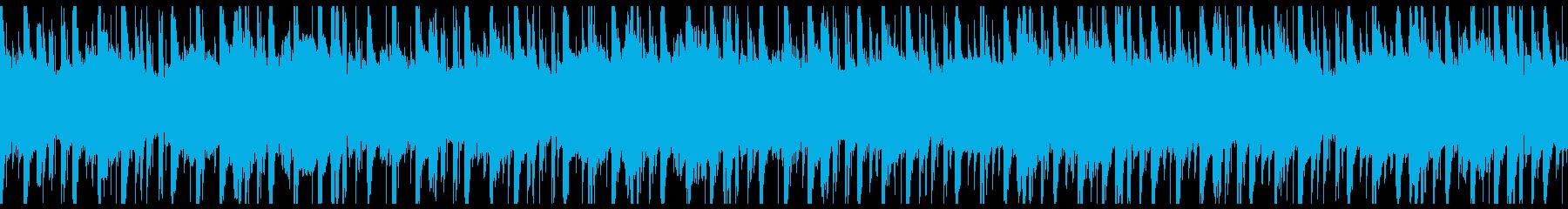 ポップ テクノ 代替案 励ましい ...の再生済みの波形