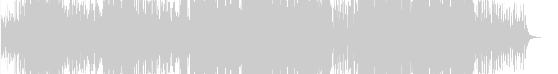 ラテン系歌モノの未再生の波形