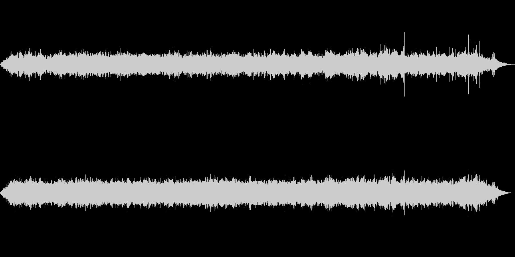 海 波 浜辺 海岸 カモメの環境音 11の未再生の波形