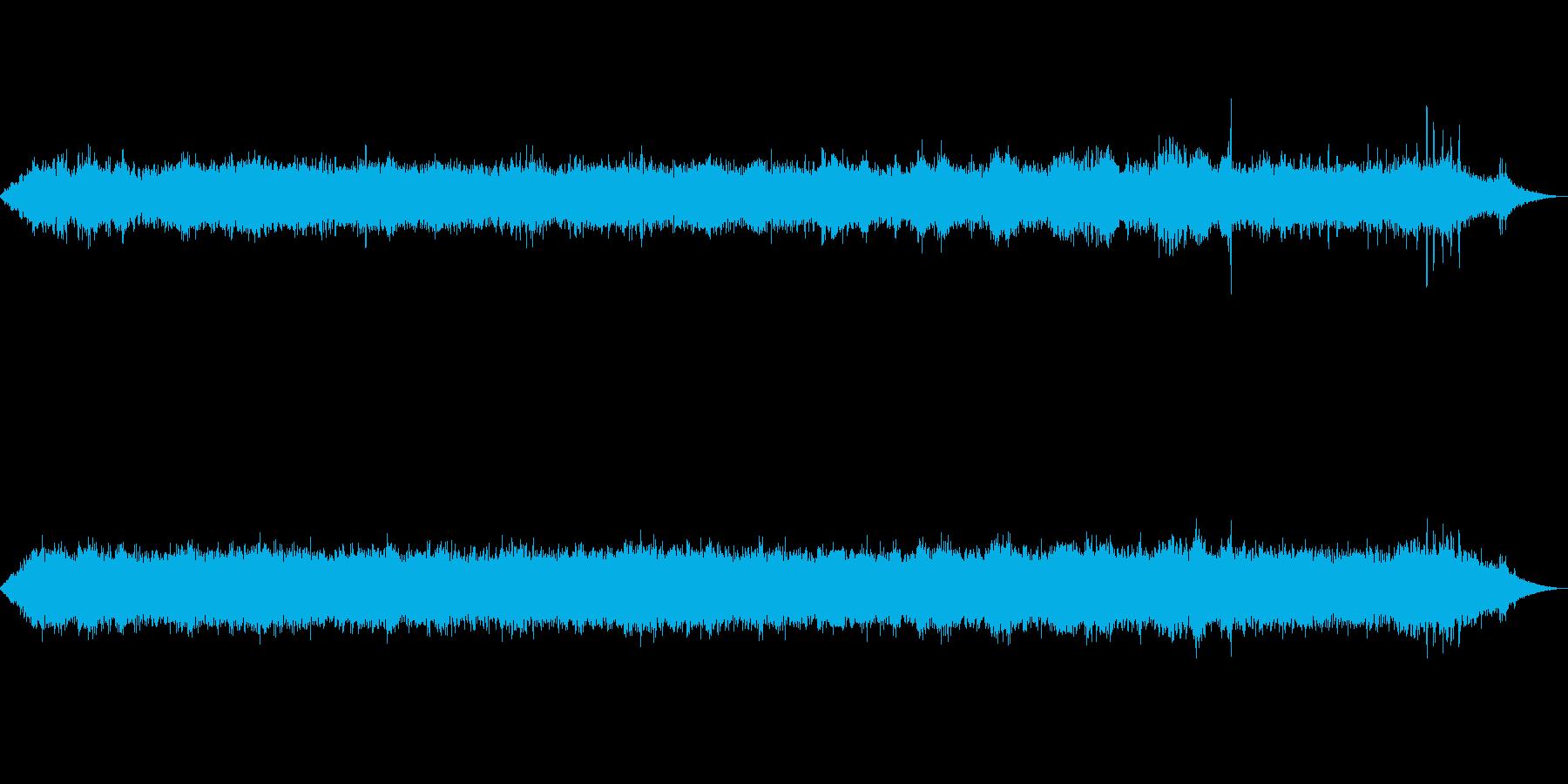 海 波 浜辺 海岸 カモメの環境音 11の再生済みの波形