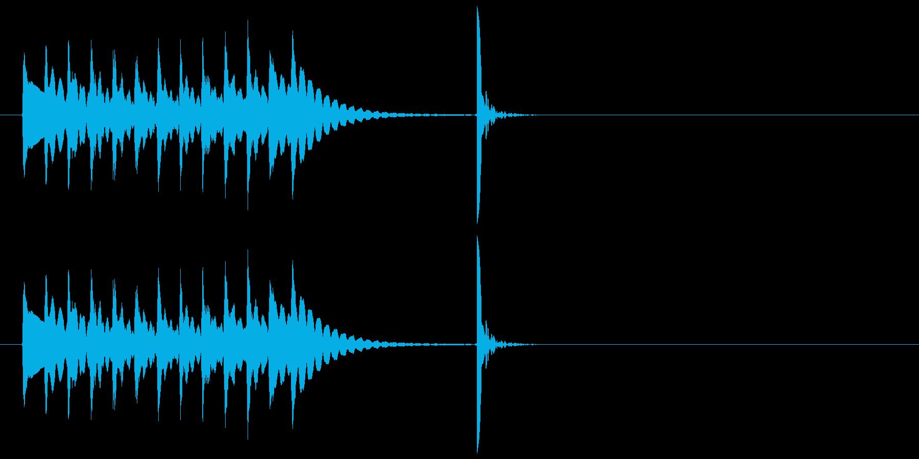 木琴~ポンッ!場面転換 アイキャッチ#3の再生済みの波形