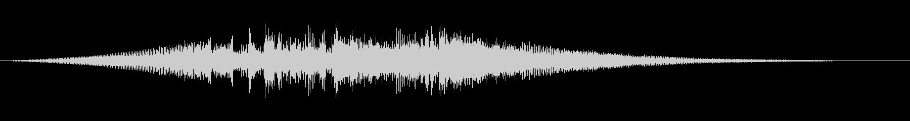 スモーキージャズロゴの未再生の波形