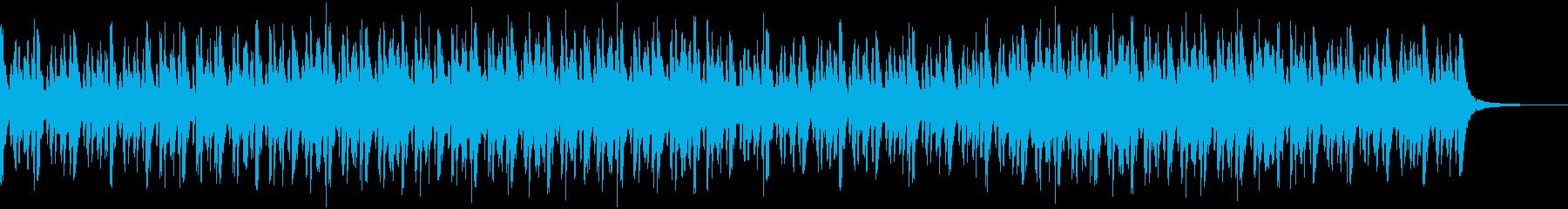 ミステリアスでダークなオーケストラの再生済みの波形