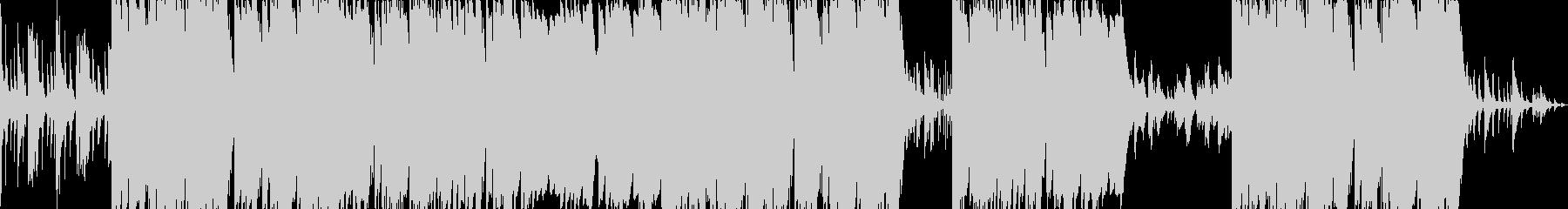 哀愁のあるシンセメロディーのトラップの未再生の波形