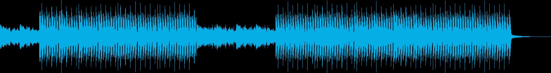 ドキドキミステリアス・怪しい奇妙前衛的の再生済みの波形