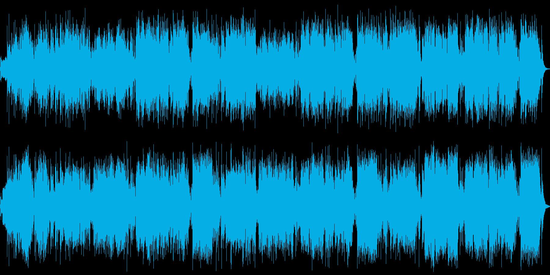 bossa nova ボサノバの再生済みの波形