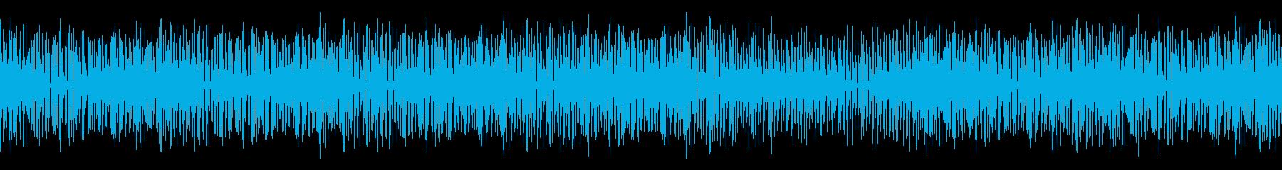 【ループ版】YouTube口笛ウクレレの再生済みの波形