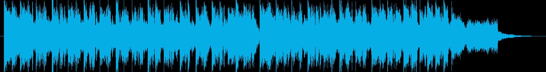 TikTok利用可 15秒EDMポップの再生済みの波形