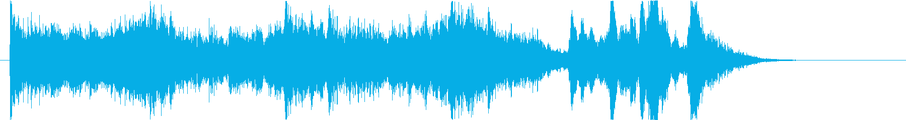 ハロウィン かわいいホラーなオケジングルの再生済みの波形