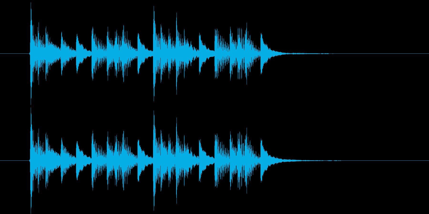 ポーポタッタン(ジャングル)の再生済みの波形