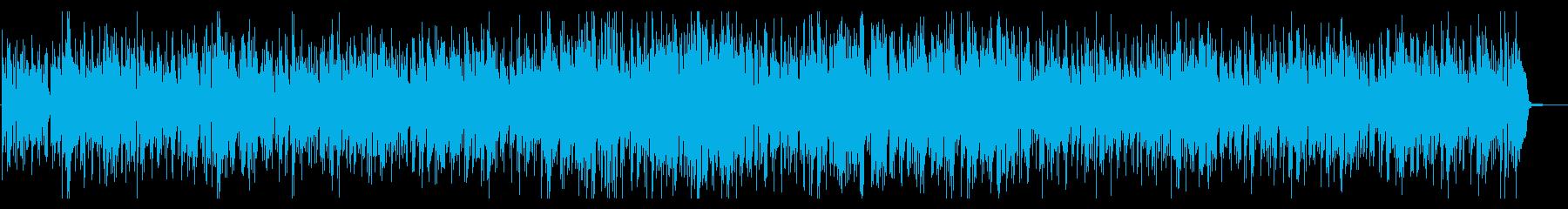 ほっと一息カフェ風 ボサノバの再生済みの波形