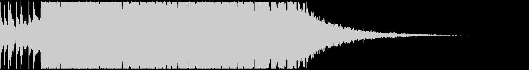 南国 トロピカルハウス ジングルの未再生の波形