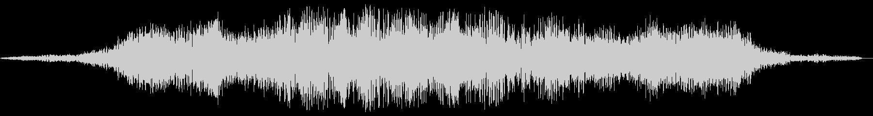 スペース系効果音(やや低め、ウワーン)の未再生の波形