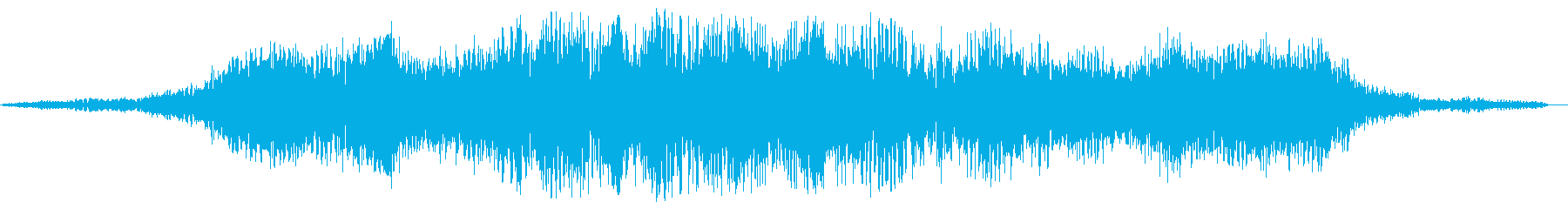 スペース系効果音(やや低め、ウワーン)の再生済みの波形