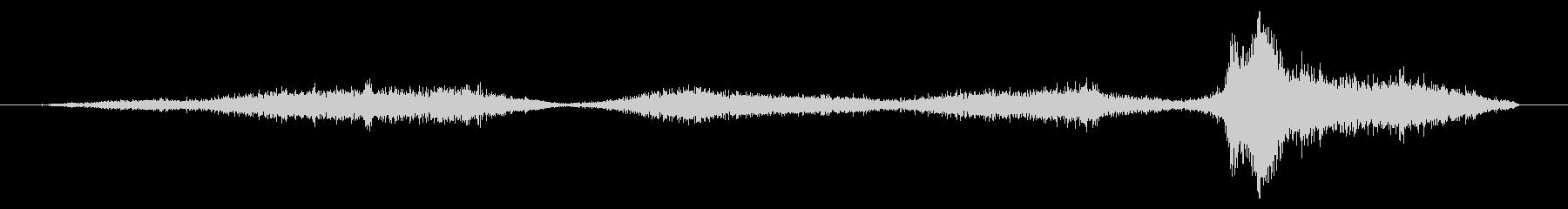 メタルショベル:サンド、フォリー、...の未再生の波形