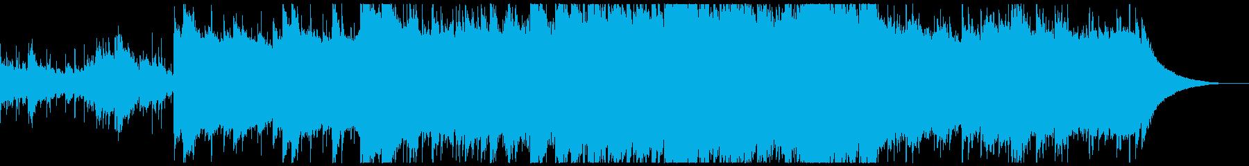 精霊をイメージした静かな曲の再生済みの波形