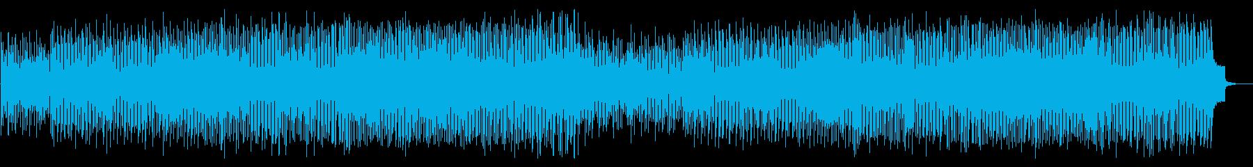 ガイコツの行進のような軽快なハロウィンの再生済みの波形