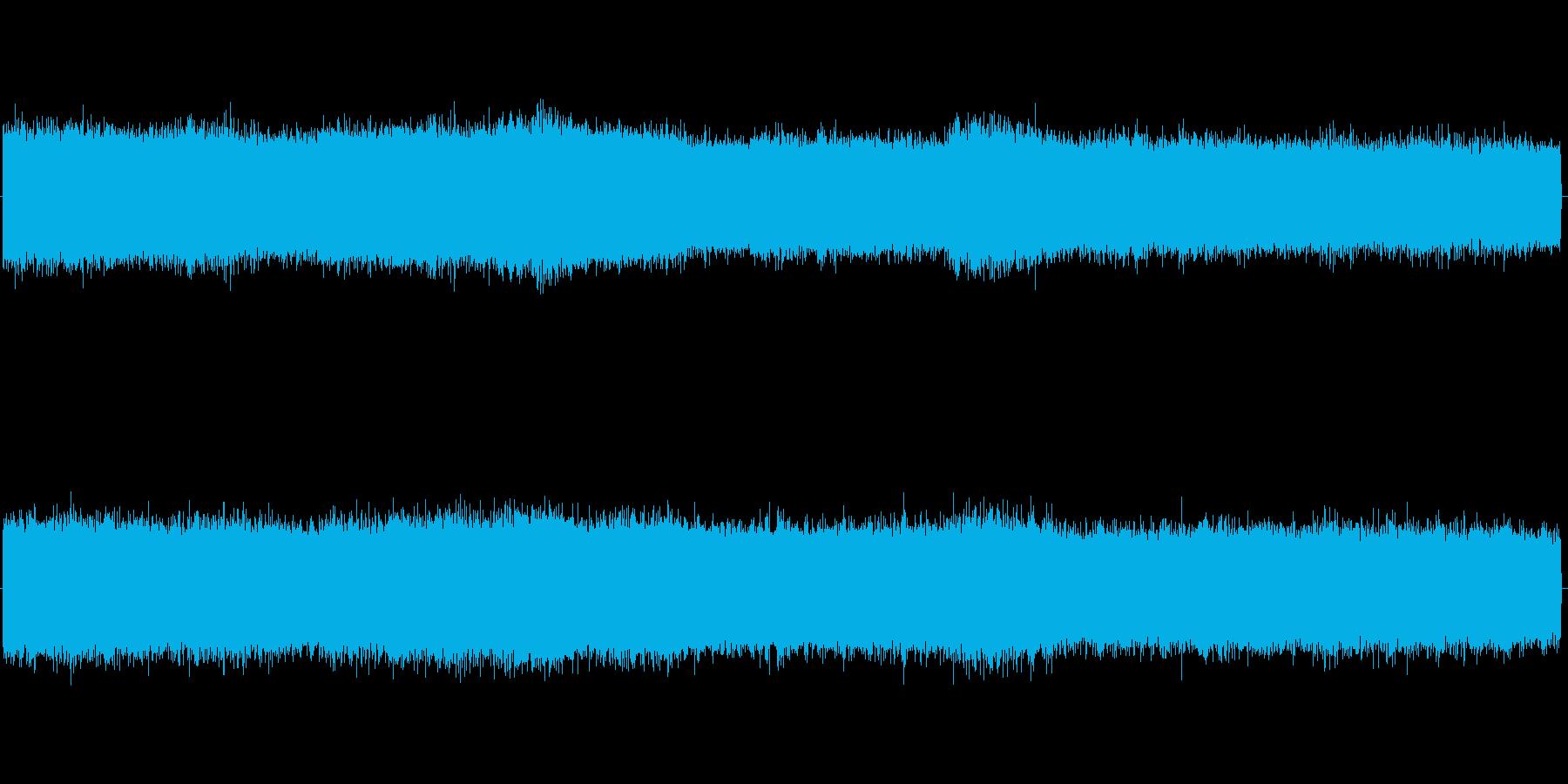 セミの鳴き声 03の再生済みの波形