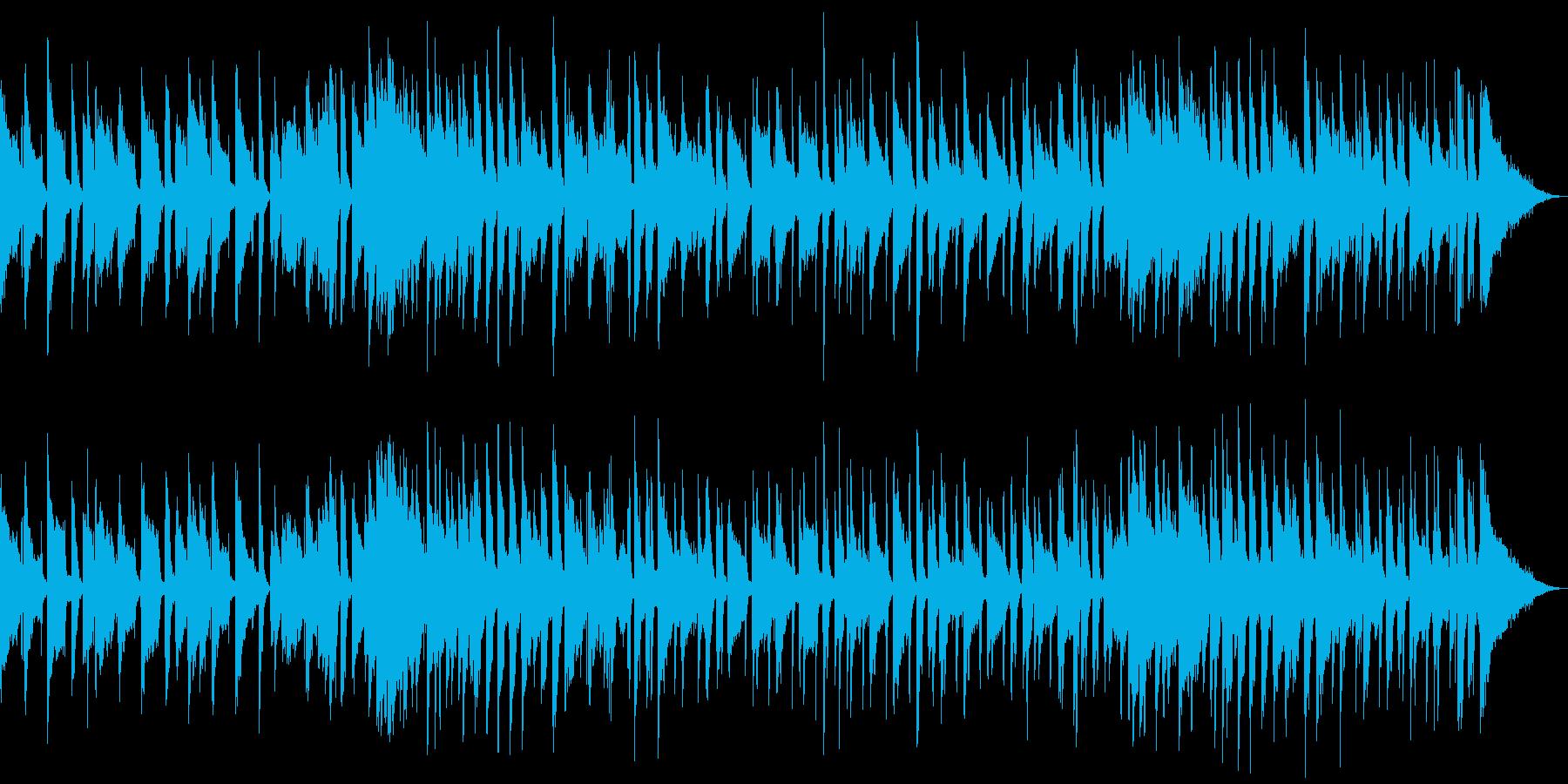 :スライドギターとアコーディオンを...の再生済みの波形