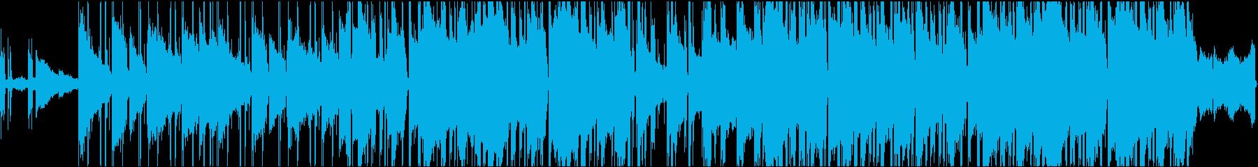 南国の楽園をイメージしたLo-FiBGMの再生済みの波形