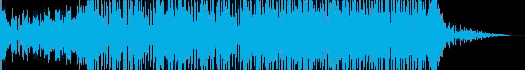 不思議なコード感をもつリキッドステップの再生済みの波形