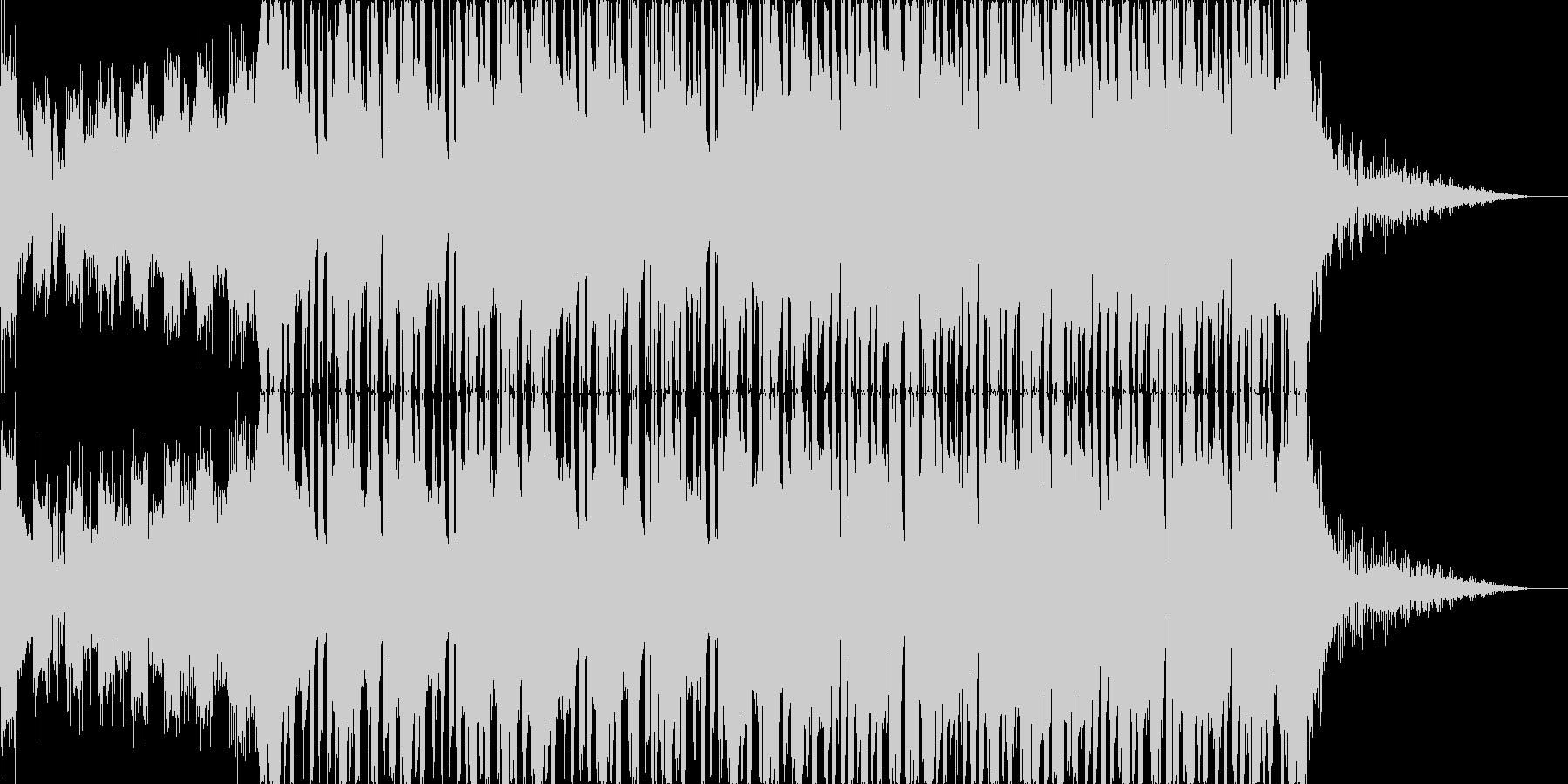 不思議なコード感をもつリキッドステップの未再生の波形