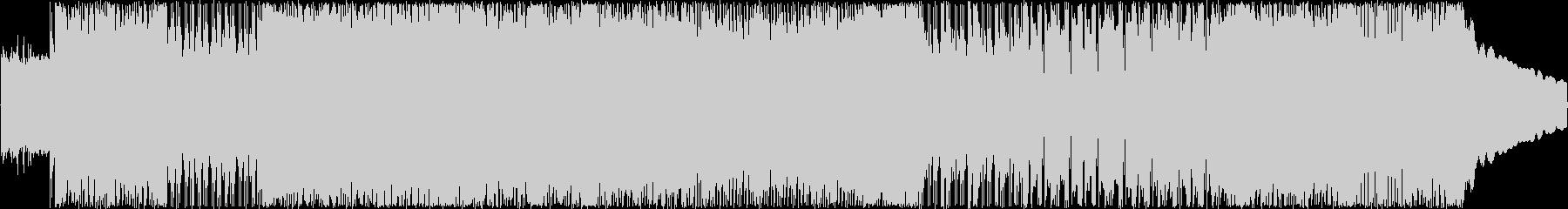 ポップでシンプルなパンク曲の未再生の波形