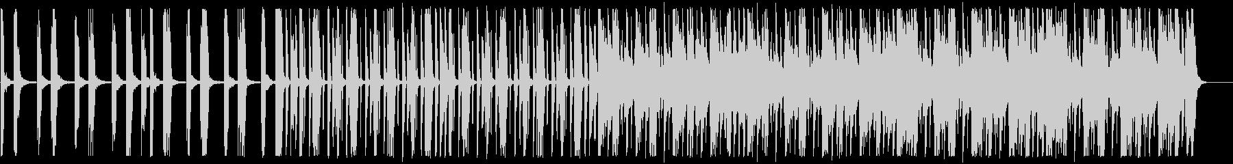 キラキラ/ローファイ_No593_2の未再生の波形