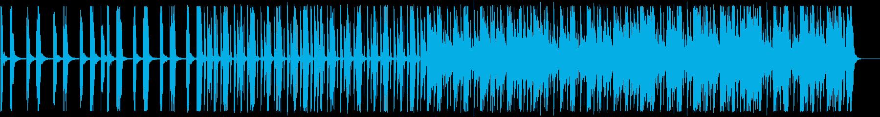 キラキラ/ローファイ_No593_2の再生済みの波形