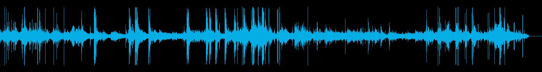 ホッケー;プレーヤー練習、パックヒ...の再生済みの波形