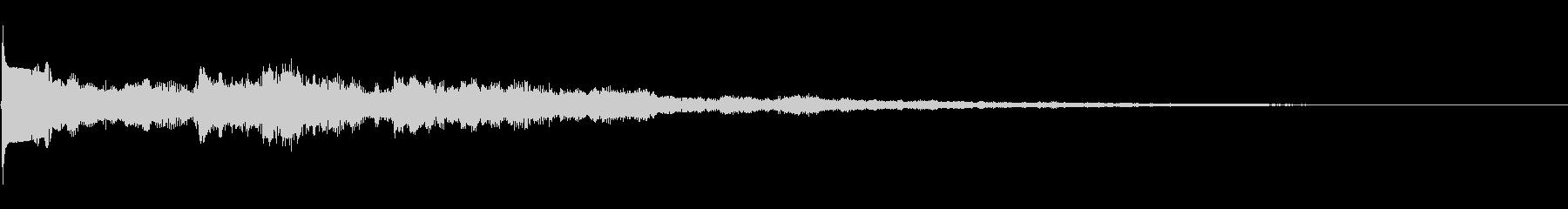 クリック音52サウンドロゴ ニュースの未再生の波形