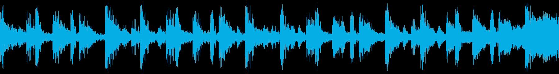 ハイテク/デジタル/モダンなライフ...の再生済みの波形