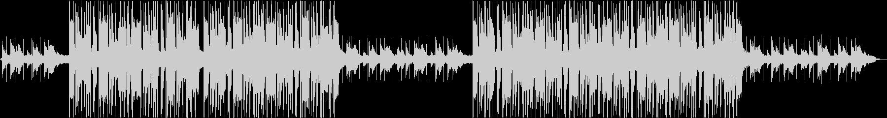 ソフトライトアーバンヒップホップの未再生の波形